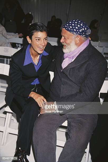 American fashion photographer Bruce Weber and Ingrid Casares circa 1996