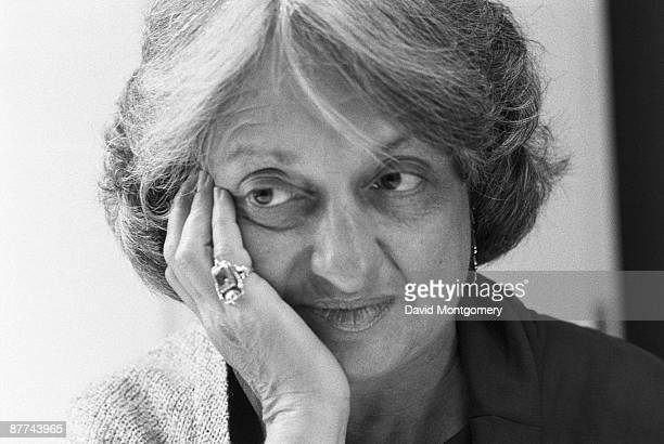 American feminist writer Betty Friedan circa 1975