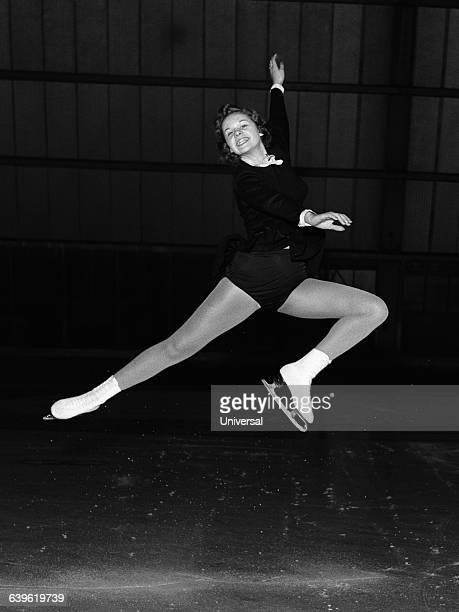 American figure skater Carol Vanek