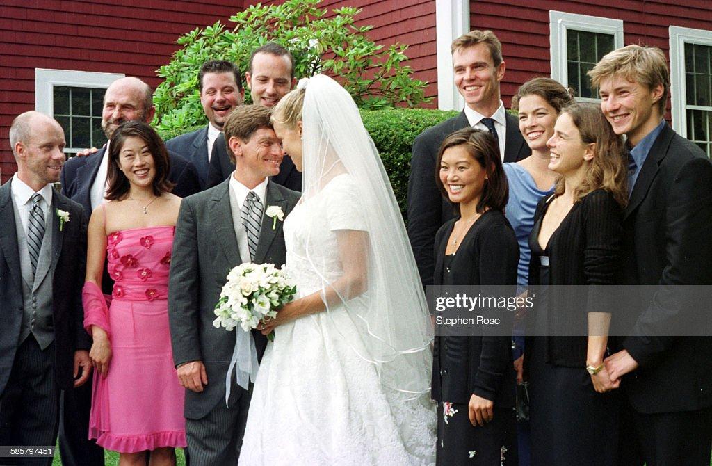 Wylie Wedding : News Photo