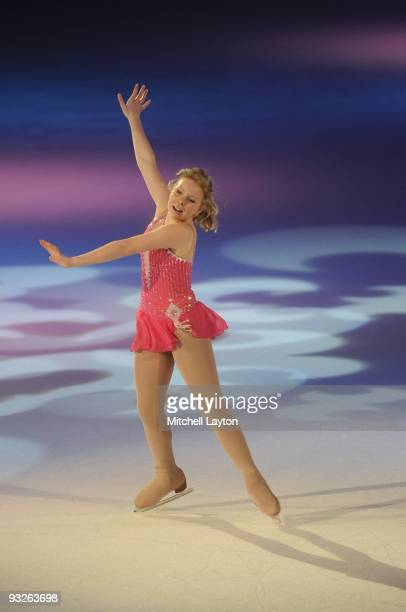 American figure skater Rachael Flatt performs during Kaleidoscope a show being taped for FOX television on November 16 2007 at the Verizon Center in...