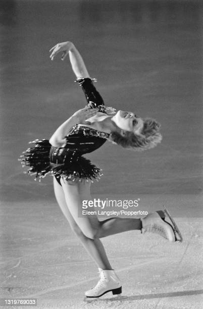 American figure skater Rosalynn Sumners performs for the United States in a Ladies singles skating routine as part of the World Tour Gala at Richmond...