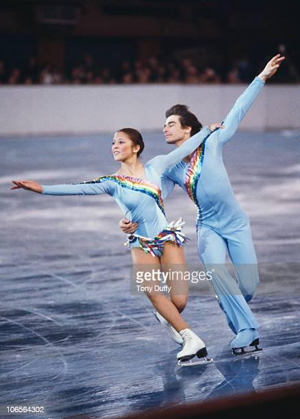 American figure skating duo Randy Gardner and Tai Babilonia circa 1979