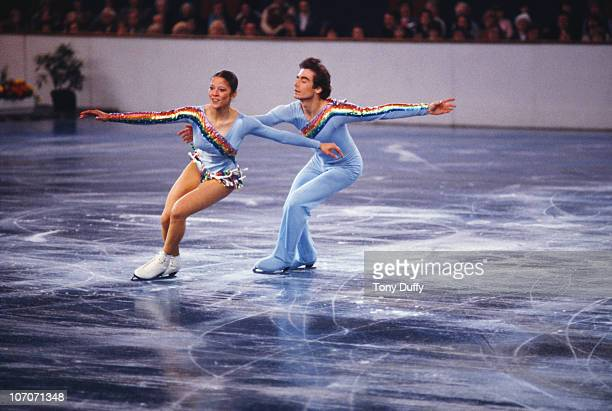 American figure skating duo Randy Gardner and Tai Babilonia in action circa 1979 Photo by Tony Duffy/Getty Images