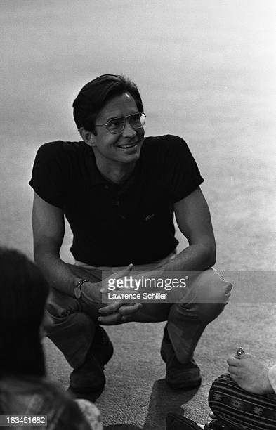 American film actor Anthony Perkins on the set of the film 'WUSA' Los Angeles California 1970