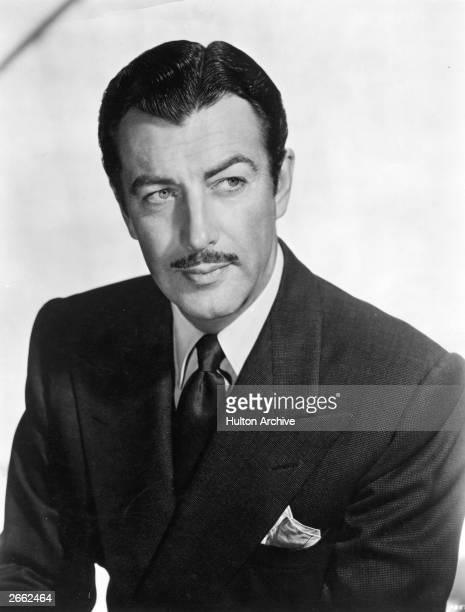 American film actor Robert Taylor