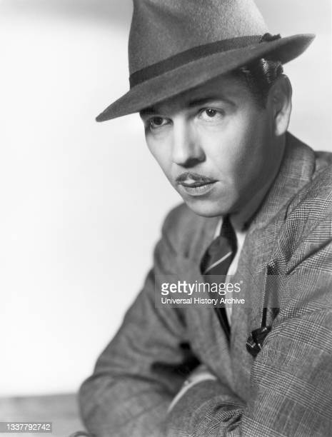 American Film Actor Roger Pryor, Head and Shoulders Publicity Portrait, Columbia Pictures, 1930's.