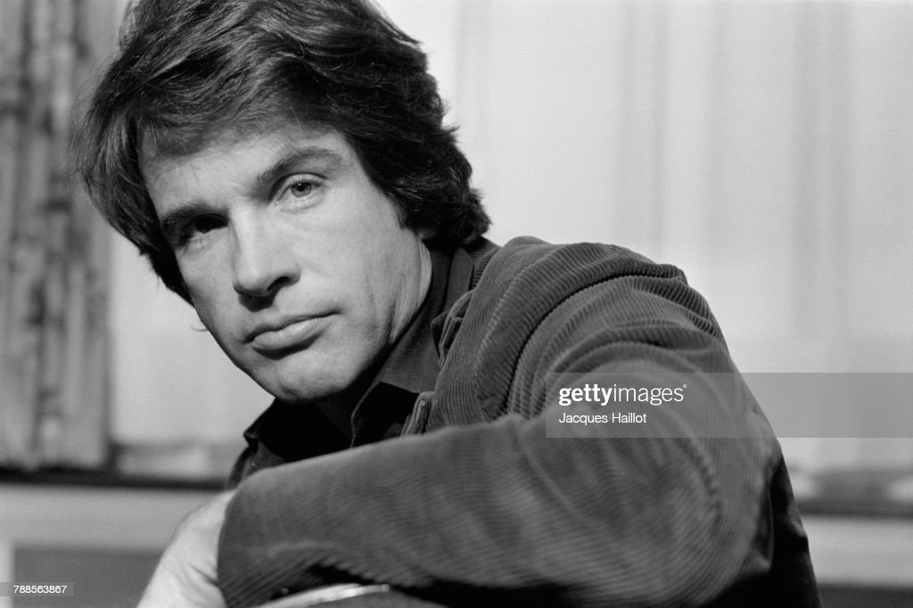 American Film Actor Warren Beatty : News Photo