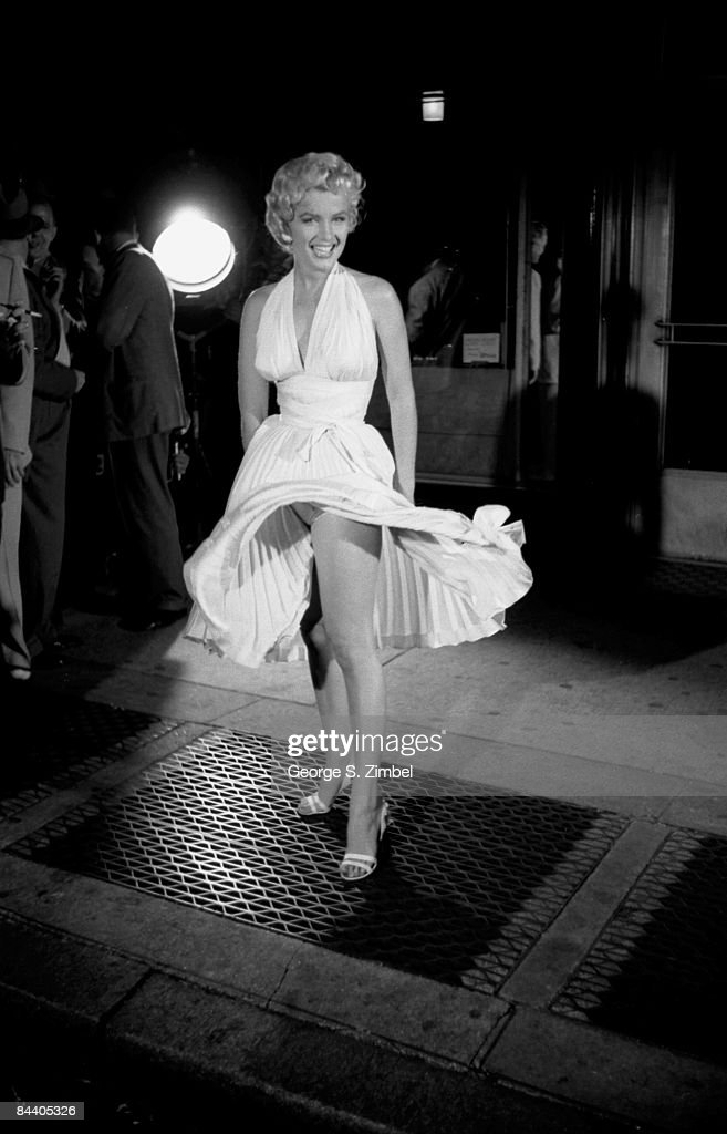 1954: Marilyn Monroe In NYC by George Zimbel