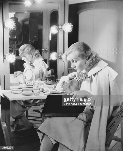 American film actress Carole Lombard plays Princess Olga in a scene from the comedy film 'The Princess Comes Across' directed by William K Howard