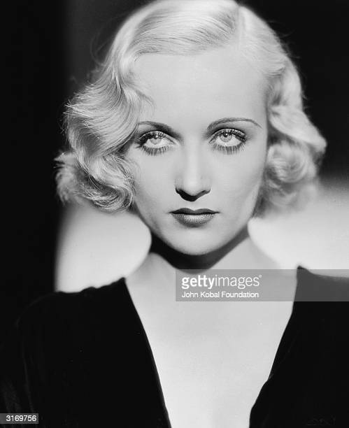 American film actress Carole Lombard . She is starring as Roma Courtney in 'Supernatural', directed by Victor Halperin.