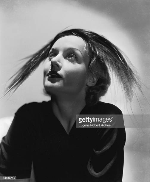 American film actress Carole Lombard who died in an aircrash
