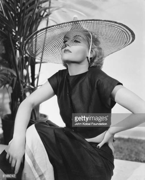 American film actress Carole Lombard who was married to actors William Powell and Clark Gable