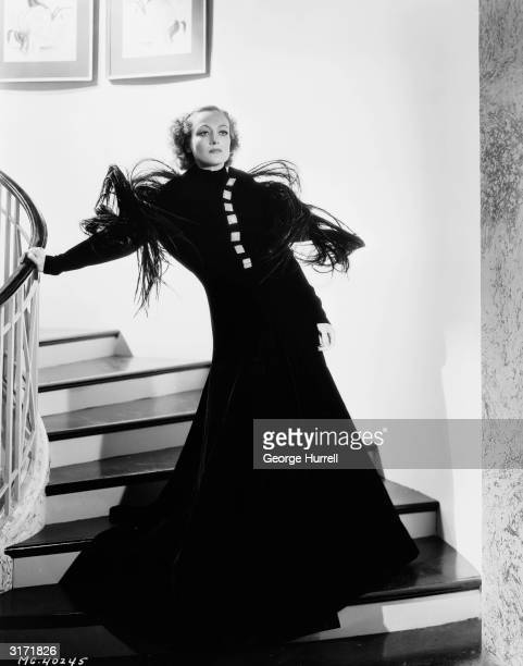 American film actress Joan Crawford as Diane Lovering in a scene from the romantic drama 'Chained' directed by Clarence Brown Costumes by Adrian