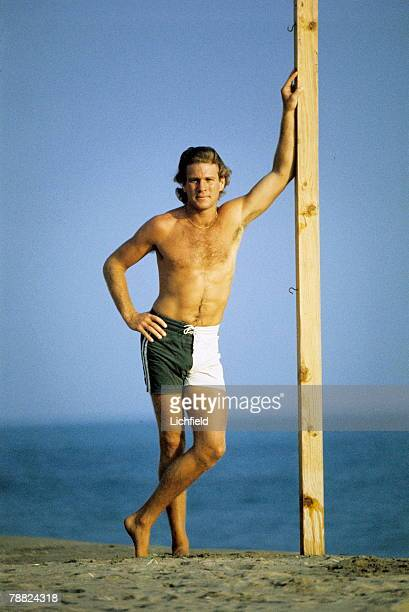 American film and television actor Ryan O'Neal photographed in California in October 1974