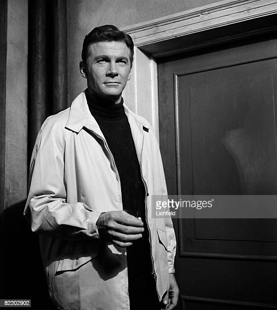 American film and television actor Steve Forrest photographed on 18th January 1966