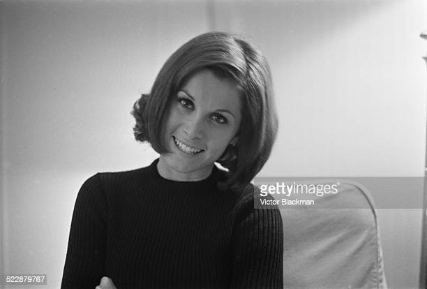 American film and television actress Stefanie Powers London 1964