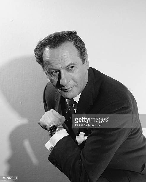 American film and television character actor Eli Wallach poses for a publicity photo for his appearance on the episode 'Dear Friends' of the series...