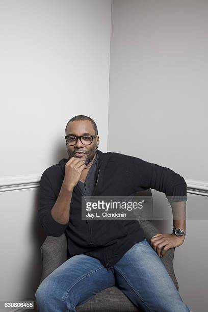 """American film and television producer and director Lee Daniels of FOX tv musical drama, """"Star"""" are photographed for Los Angeles Times on December 1,..."""