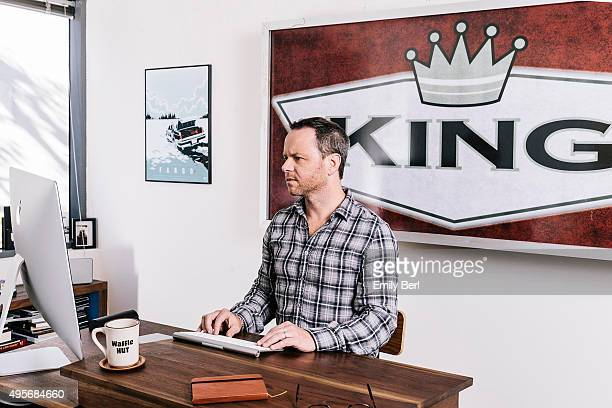 American film and television producer screenwriter and creator of FX's 'Fargo' Noah Hawley is photographed for The Hollywood Reporter on October 1...