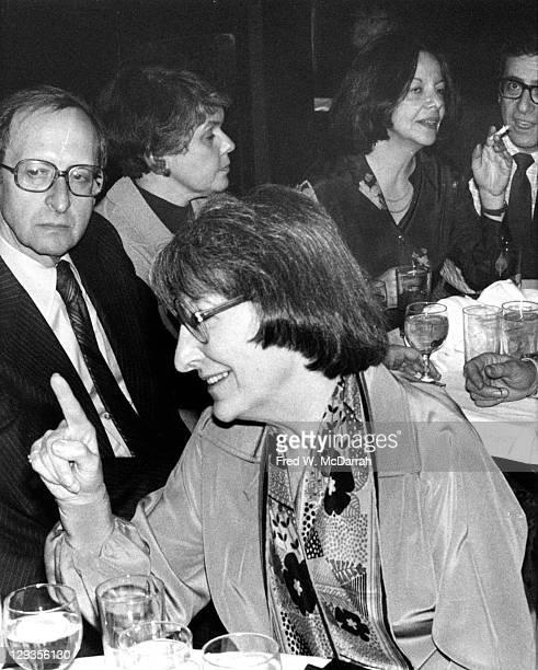 American film critic Pauline Kael attends the New York Film Critics Circle award ceremony New York New York January 30 1977