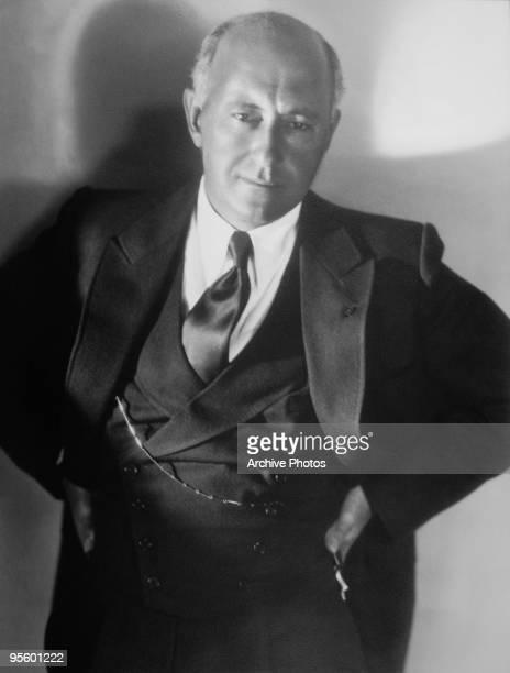American film director Cecil B DeMille circa 1935