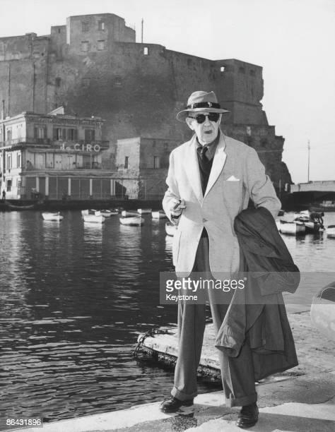 American film director John Ford Naples 17th December 1954