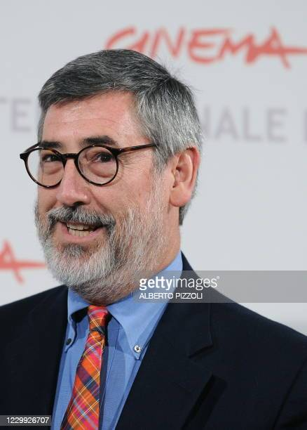 """American film director John Landis poses during the photocall of the movie """"Burke & Hare"""" presented in Alice nella città section at the 5th Rome Film..."""