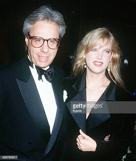 American film historian director and writer Peter Bogdanovich with his wife Louise Stratten at a St Jude Children's Hospital benefit gala on July...