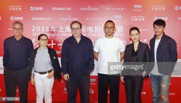 American film producer David Permut Hungarian director Ildiko Enyedi Turkish director Semih Kaplanoglu Chinese director Jiang Wen Chinese actress Qin...