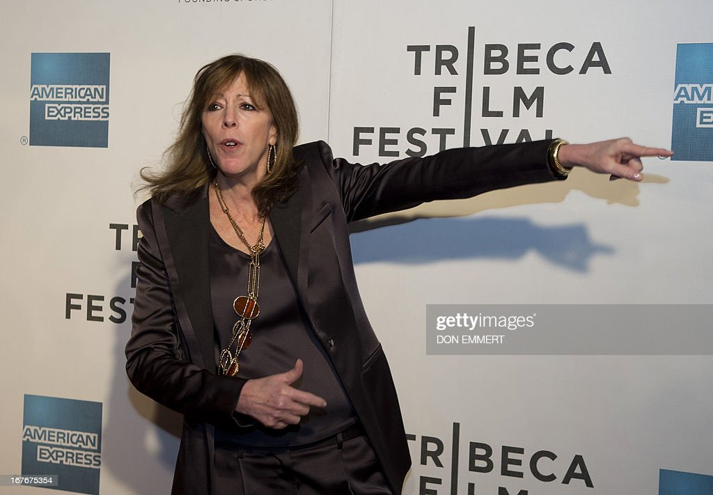 American film producer Jane Rosenthal arrives for the closing night event The King of Comedy at the Tribeca Film Festival April 27, 2013 in New York. AFP PHOTO/Don Emmert