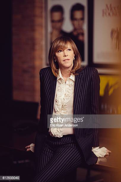 American film producer Jane Rosenthal is photographed for Gotham Magazine on March 14 2014 in New York City