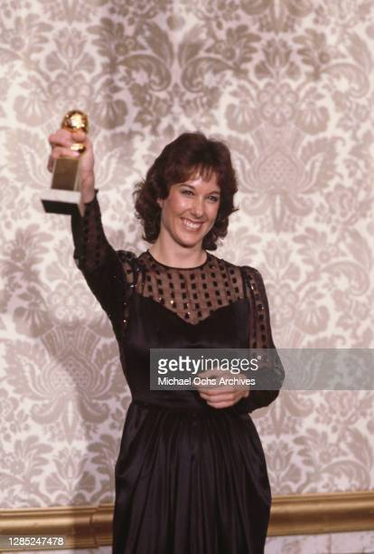 American film producer Kathleen Kennedy attends the 40th Annual Golden Globe Awards held at the Beverly Hilton Hotel in Beverly Hills California 29th...