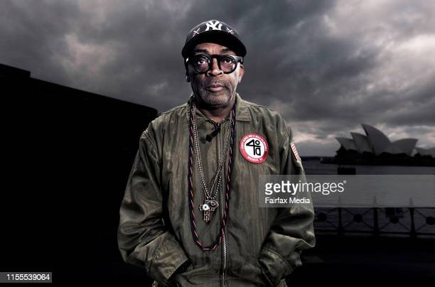 American film producer, Spike Lee, is in Sydney to speak at the Game Changer Series, which is part of the Vivid Sydney festival, June 1, 2019. Lee...