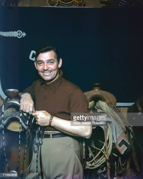 American film star Clark Gable circa 1950