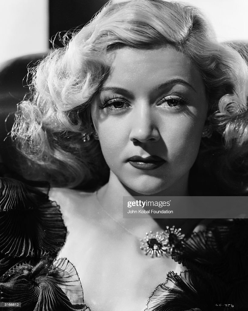 American film star, Gloria Grahame (1923 - 1981) as Ginny Tremaine in 'Crossfire', directed by Edward Dmytryk.