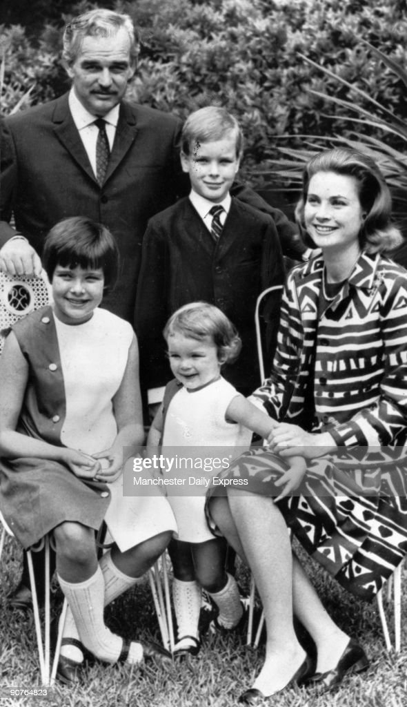 Prince Rainier Princess Grace And Their Children June 1967 News Photo