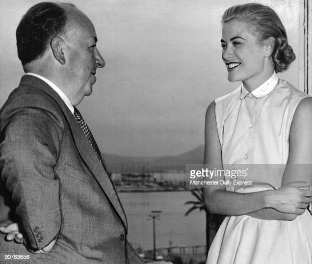 American film star Grace Kelly starred in three of director Alfred Hitchcocks films Rear Window and Dial M for Murder and To Catch a Thief She...
