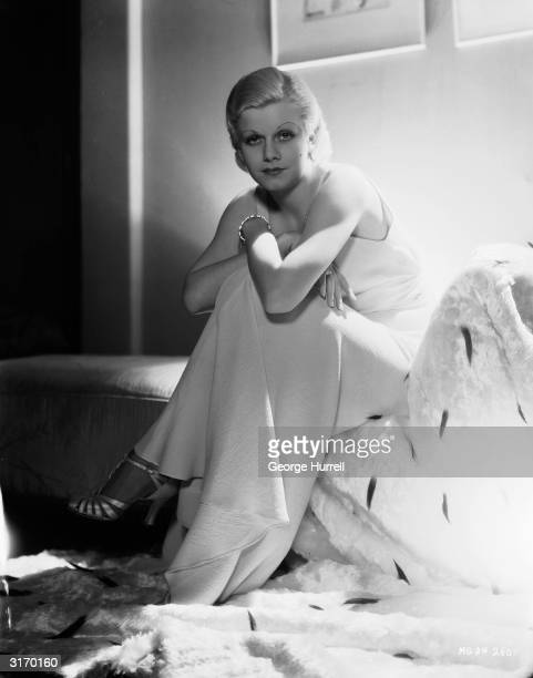 American film star Jean Harlow , the blonde bombshell who died tragically young of acute nephritis.