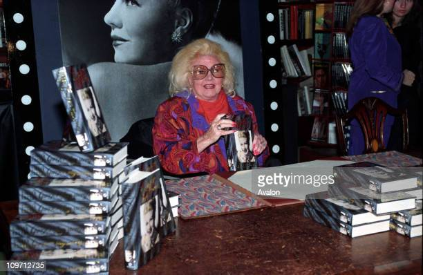 ROGERS American Film Star Seen in London signing copies of her autobiography 15 07 1991