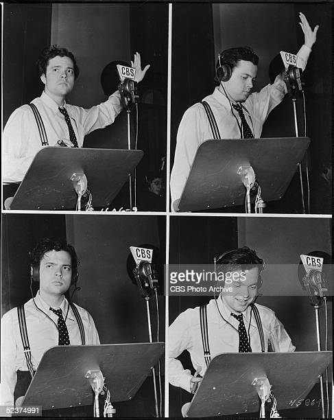 American filmmaker Orson Welles rides a wave of notoriety by broadcasting at CBS Radio just days after the famous October 30 1938 radio broadcast of...