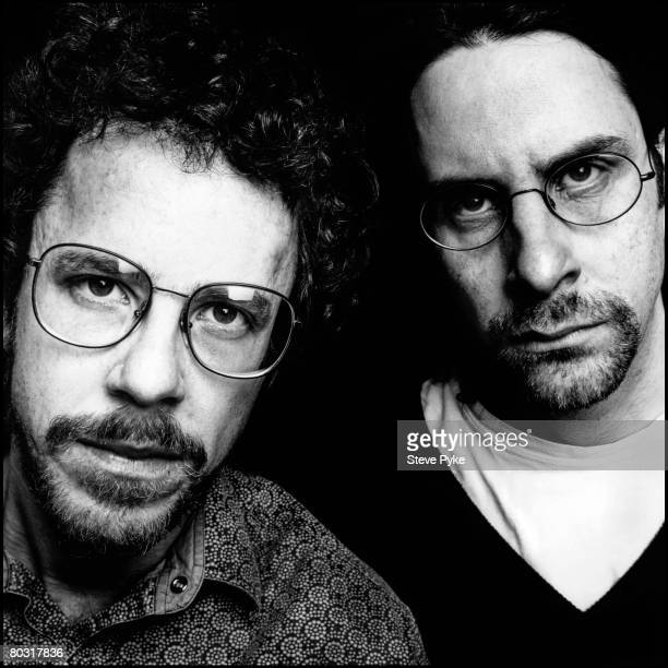 American filmmakers the Coen Brothers Ethan and Joel London June 1996