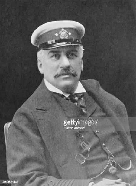 American financier John Pierpont Morgan circa 1880 Photograph by H G Mendelssohn