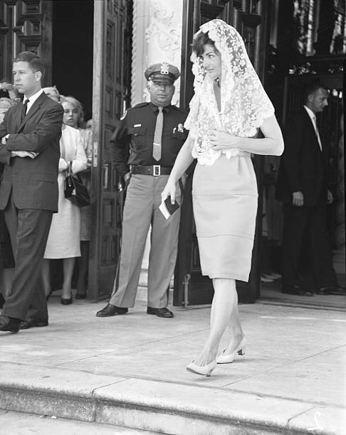 Jacqueline Kennedy Attends Church