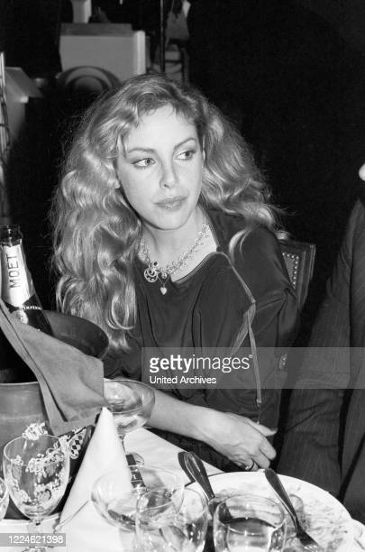 American fitness guru and actress Sydne Rome at the Deutscher Filmball on January 15th 1979 at Munich, Germany, 1970s.