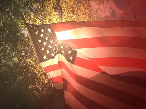 American Flag Background 686410276