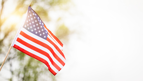American flag for Memorial Day, 4th of July, Labour Day 1220976633