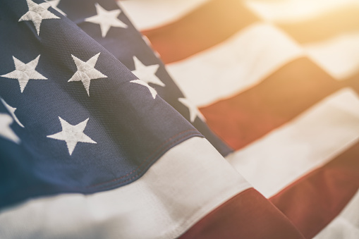 American flag for Memorial Day, 4th of July, Labour Day 826051854