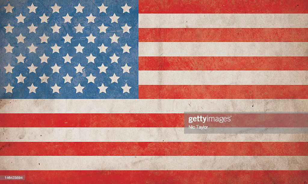 American Flag Grunge Background Hi Res Stock Foto Getty Images