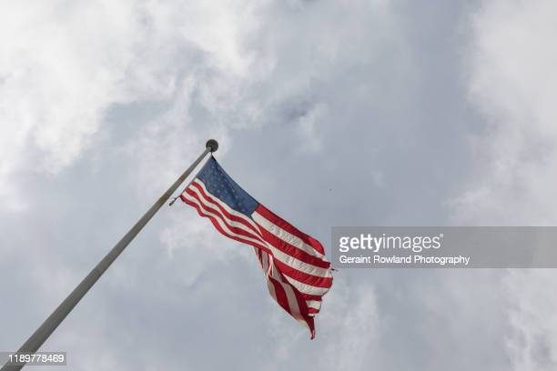 american flag, miami - armed forces day stock pictures, royalty-free photos & images